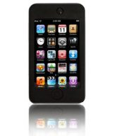 Silicon Case for iTouch 4 (ipod Touch 4th Gen) - Black