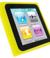 Silicon Case for iPod Nano 6 (6th Generation) - YELLOW