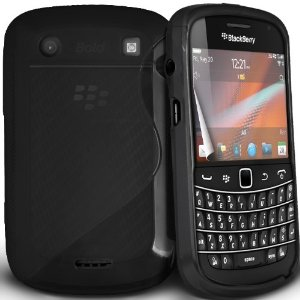 S-Line Gel Case For Blackberry 9900 / 9930 - Black