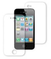 SCREEN PROTECTOR For Apple iPhone 4 4G HD- FRONT AND BACK FULL BODY (Pack of 3)