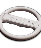 Wii STEERING WHEEL FOR RACING GAMES MOTION PLUS- WHITE