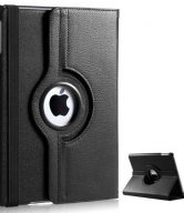 Apple iPad 3 360 Degree Rotation Swivel Case - Black