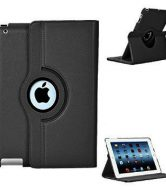 Apple iPad 3 360 Degree Rotation Swivel Case - Grey