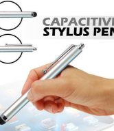 Stylus Pen for ipad 1 & 2, iPhone 4, HTC, Tablet pc, Asus Tablets, Advent - Silver