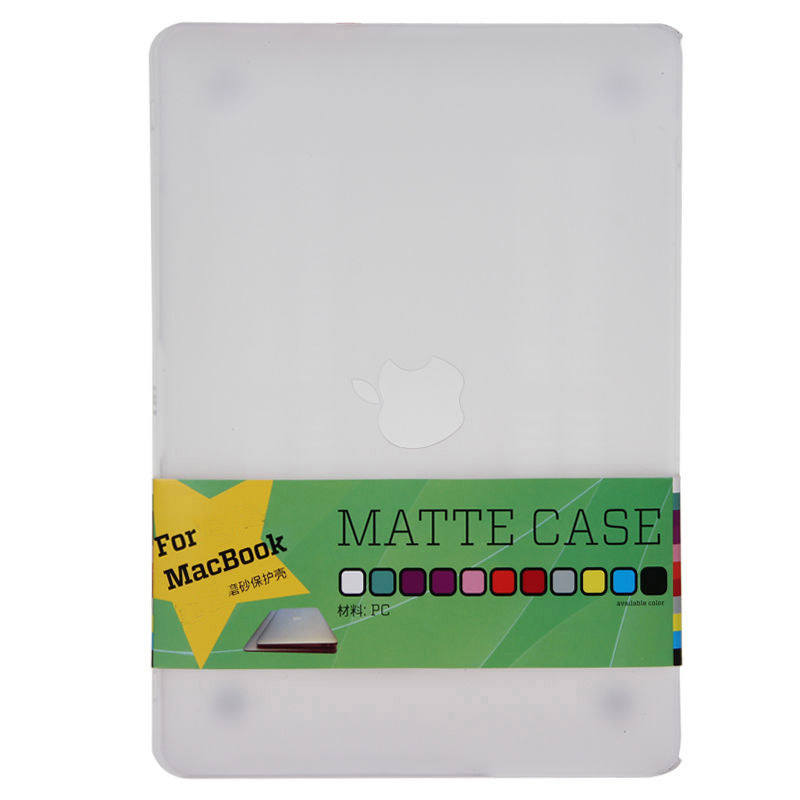 "Macbook Pro 15"" Case - Clear Transparent"