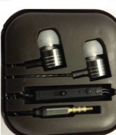 Metal Earphones Newstyle - Black