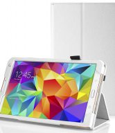"""Tablet leather case packs - GALAXY TAB S 8.4 INCH (WHITE) """