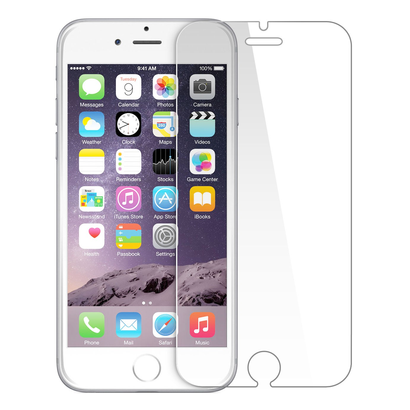 """shock proof screen protector iphone 6 - 200 pcs """
