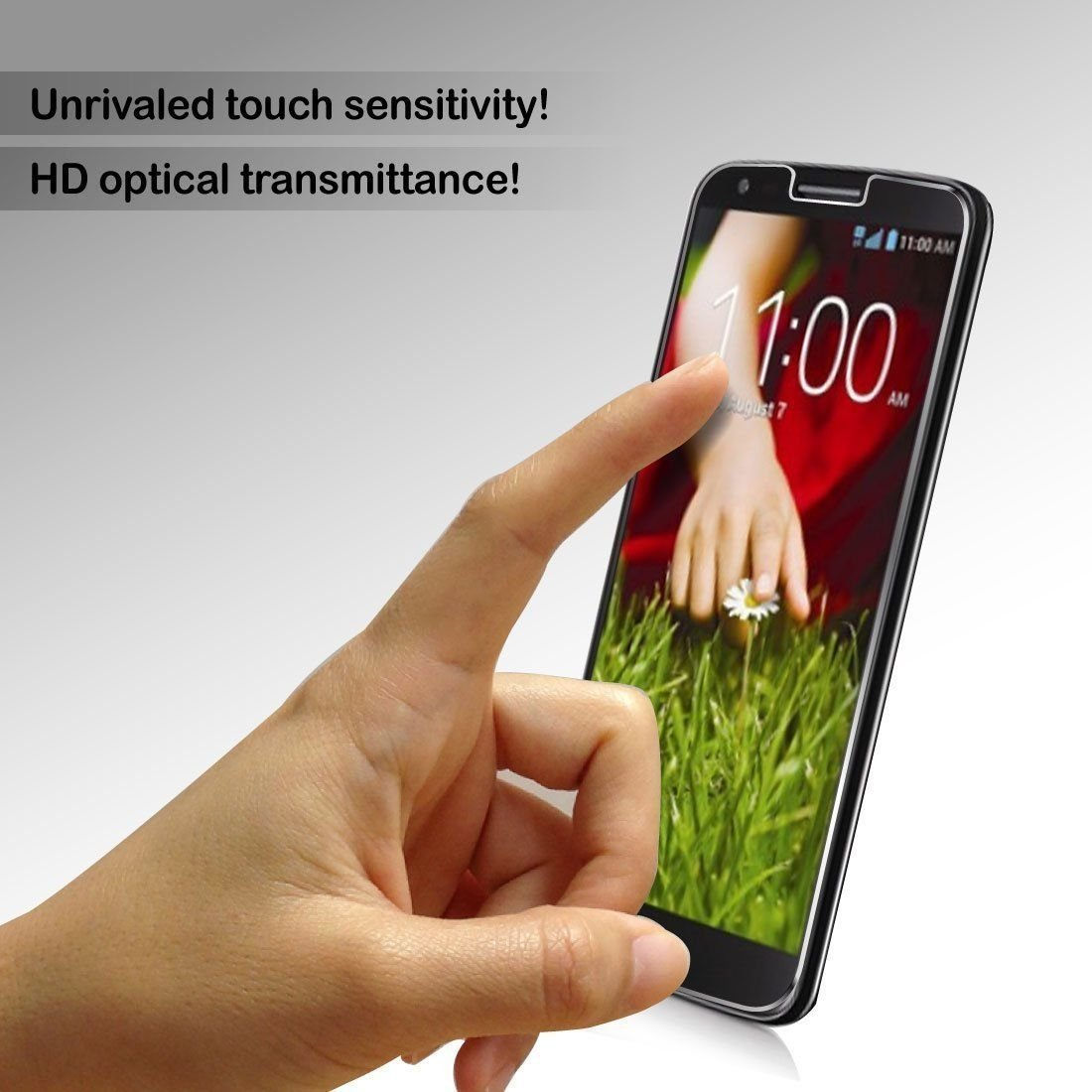 Aegis tempered screen protector for S5
