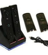 Twin Charging And Docking Station For Wii Remotes