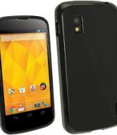Gel Case For Samsung Google Nexus 4 E960 With Free Screen Protector